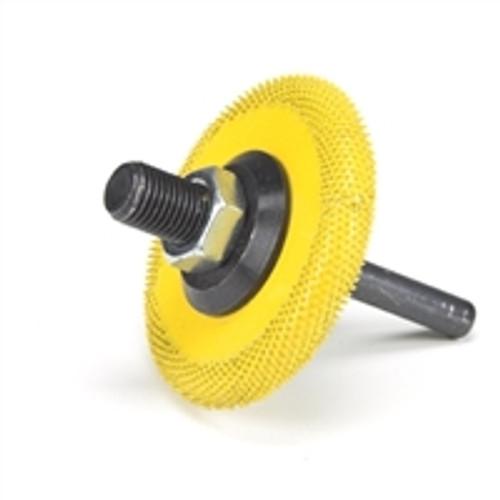 SABURR 2 inch Buzzout wheel Fine Grit (Yellow)