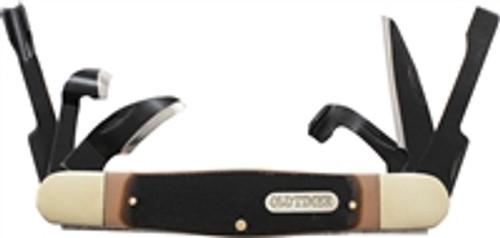 SCHRADE Old Timer SPLINTER CARVIN 6 Blade Pocket Carving Knife! 24OT