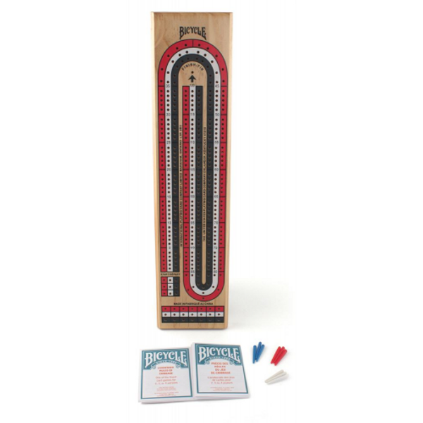 Bicycle Cards Cribbage Board - at Art from the Bark