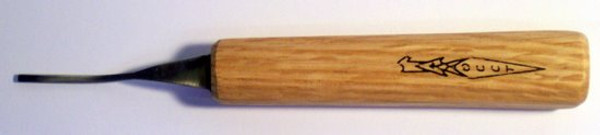 OCC Tools 1/8 #1 Dog Leg at  carvingsandhobbies.com