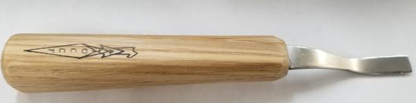 OCC 3/8 #1 Dog Leg Gouge at Art From The Bark