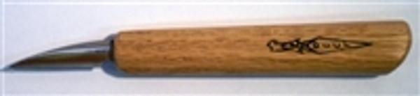 "OCC Knife 1-4SK  1-1/2 Straight Blade, 5"" Handle"