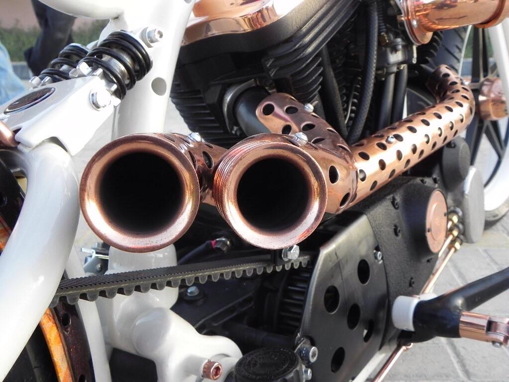 BIB: Custom Exhaust
