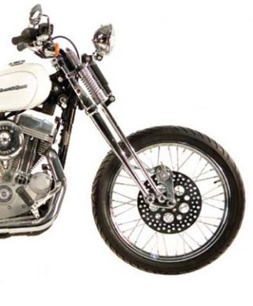 Springer Front End for Sportster and Dyna - Stock Length