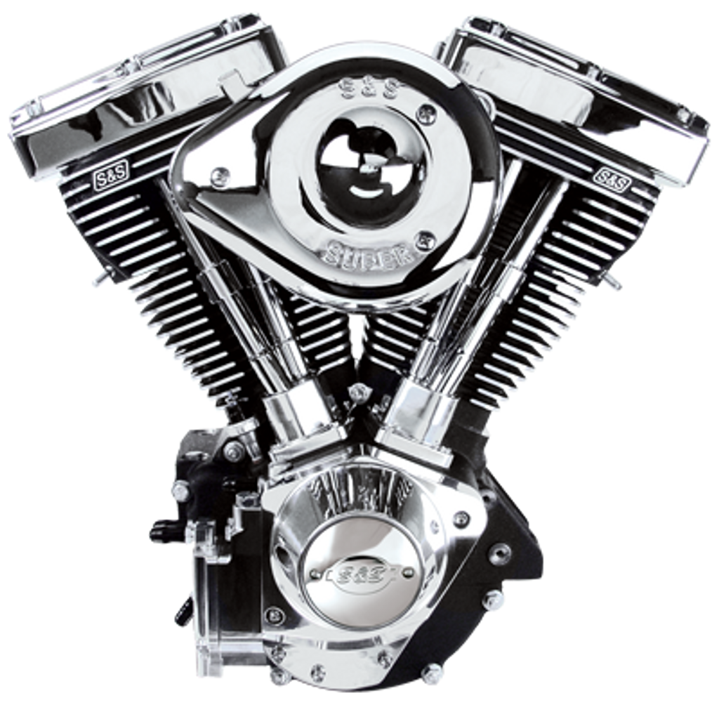 50-State Legal V96R Replacement Engines - Wrinkle Black