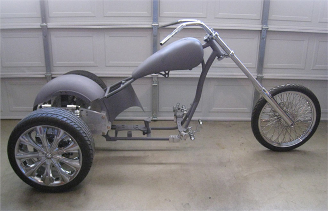 Custom Chopper Trike