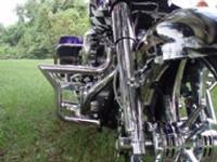 2007 Art In Motion Custom Bagger - Purple Haze - 1st Bike Built