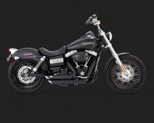 Shortshots Shaggered BLK 2012-2014 Harley Davidson Dyna