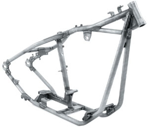 """Rigid Frame 1 1/4"""" tubing 32 degree rake 2"""" stretch includes axle and adjusters ($820.00)"""