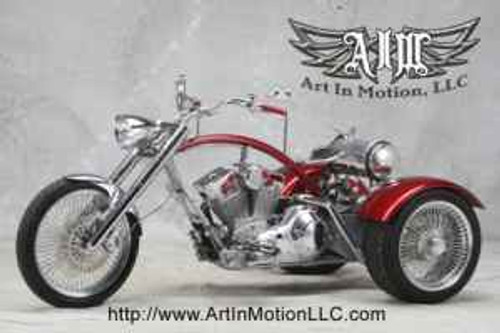 SOLD - 2008 Art In Motion Custom Trike - Flyin' Trike