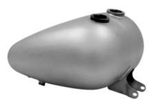 Axed 4.2 Gallon Tank - Dual Cap for Sportster