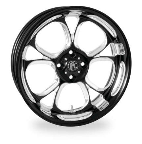 Luxe Forged Trike Wheels - Black and Chrome Finish