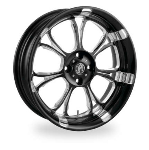 Paramount Forged Trike Wheel - Black/Chrome Finish