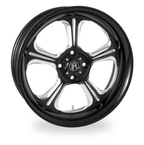 Wrath Forged Trike Wheels Black/Chrome Finish