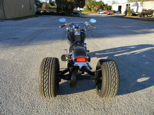 Bare Bones Softail Straight Axle Trike Conversion Kit