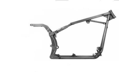 "Kraftech TC 88B Motor Stock / 1-1/4"" Tube / 30º Rake 0"" Stretch - Softail Style Custom Motorcycle Frame"