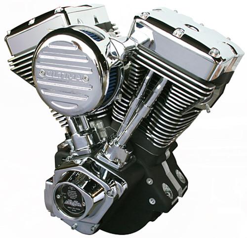 El Bruto® Series Ultima 4.00 Bore 113 CI  Engine - Black Assembled