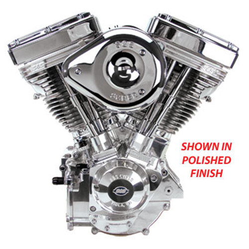 S&S V124 Engine - polished finish