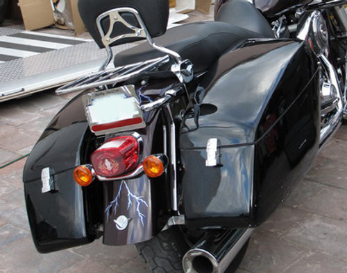R-Coner Hard Saddlebags for Road King