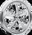 Colorado Custom RPM-6 Chrome Finish Motorcycle Wheel