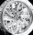RPM-7 Twisted Spoke Motorcycle Wheel