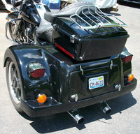 How Can I Convert a Harley Road King to a Trike Using a