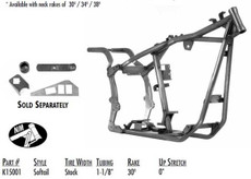 Softail Style Stock / 1-1/8