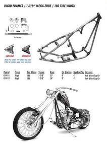Rigid Style 180 Tire / Hidden Axle / 1-3/8