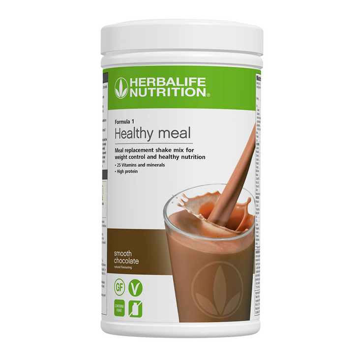 Herbalife - Formula 1 Nutritional Shake Mix - Smooth Chocolate (550g) - Container