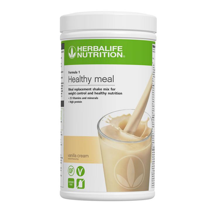 Herbalife - Formula 1 Nutritional Shake Mix - Vanilla Cream (550g) - Container