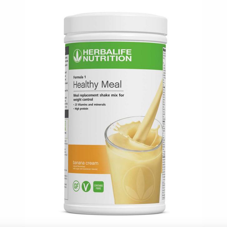Herbalife - Formula 1 Nutritional Shake Mix - Banana Cream (550g) - Container