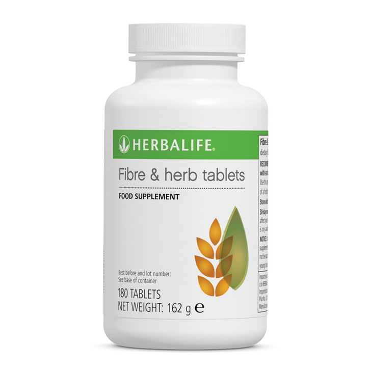 Herbalife - Fibre & Herb Tablets (180 Tablets) - Container