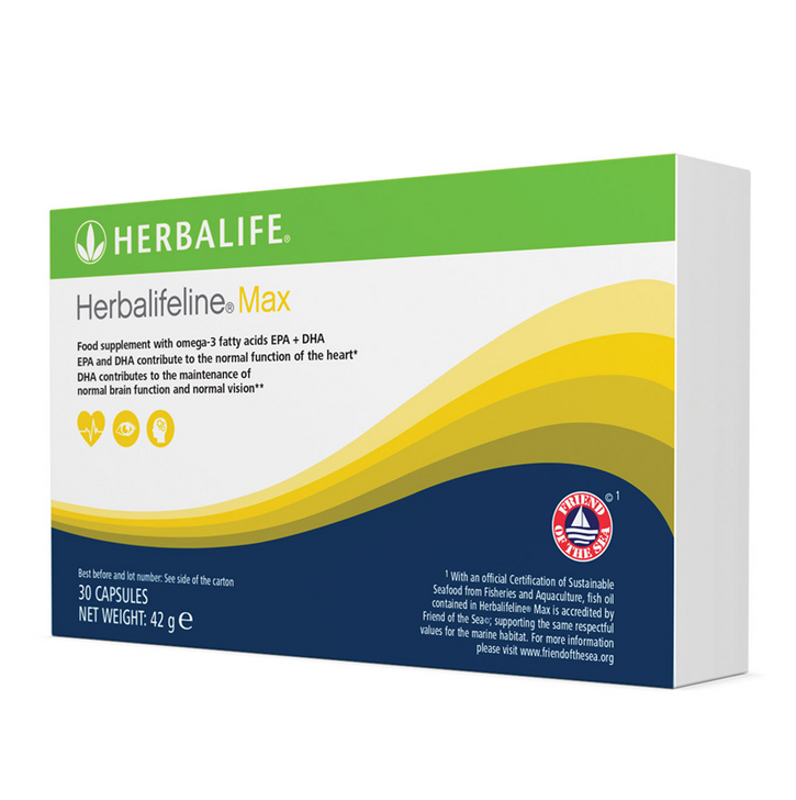 Herbalife - Herbalifeline® Max (30 Capsules) - Box