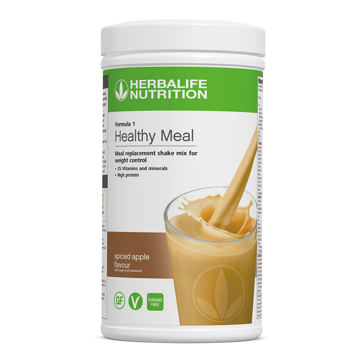Herbalife - Formula 1 Nutritional Shake Mix - Spiced Apple (550g) - Container