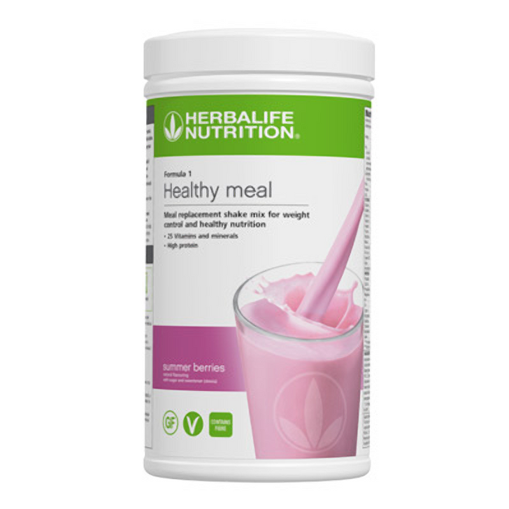 Herbalife - Formula 1 Nutritional Shake Mix - Summer Berries (550g) - Container
