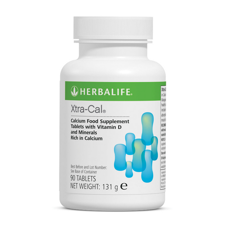 Herbalife - Xtra-Cal (90 Tablets) - Container