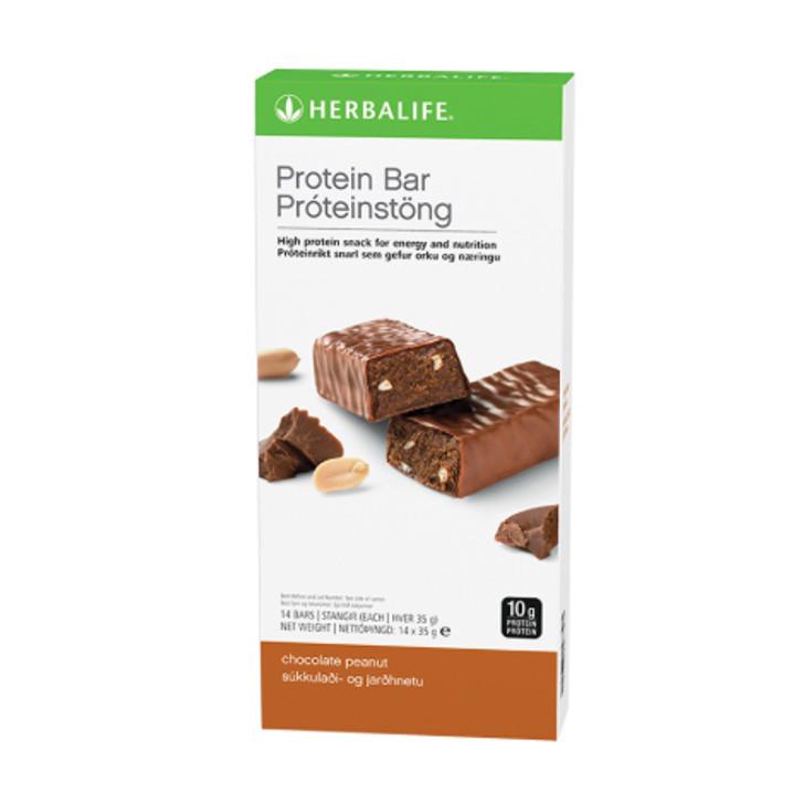 Herbalife - Protein Bars - Chocolate Peanut (Box of 14) - Box