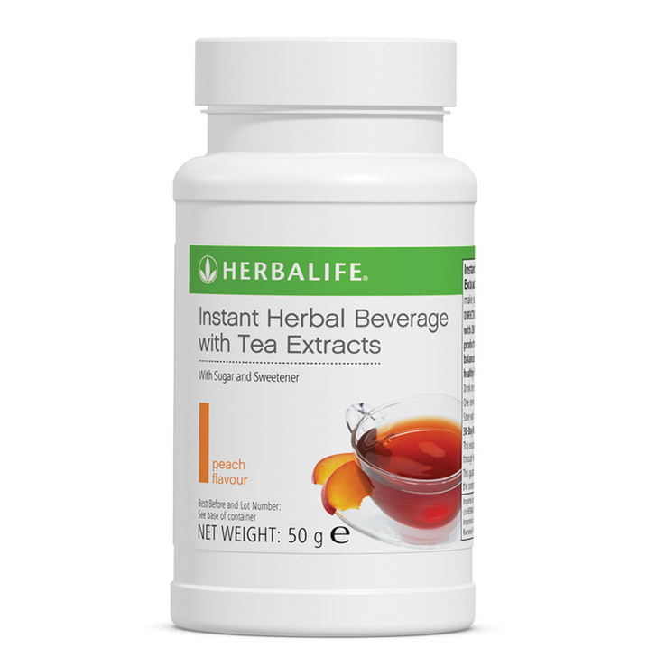 Herbalife - Instant Herbal Beverage - Peach (50g) - Container
