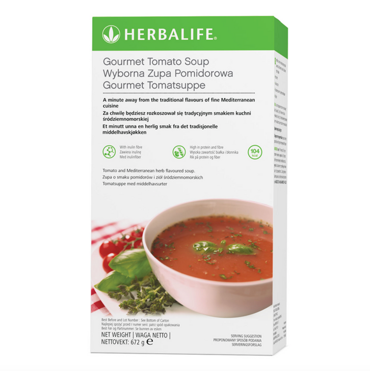 Herbalife - Gourmet Tomato Soup - Pack of 21 Servings (672g) - Container