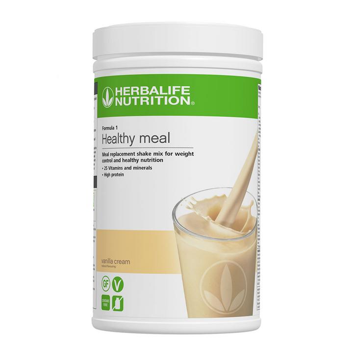Herbalife - Formula 1 Nutritional Shake Mix - Vanilla Cream (780g) - Container