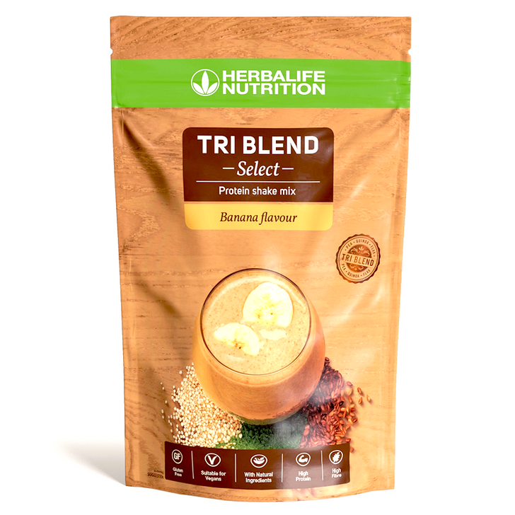 Herbalife - Tri Blend Select - Protein Shake Mix (600g) - Packaging