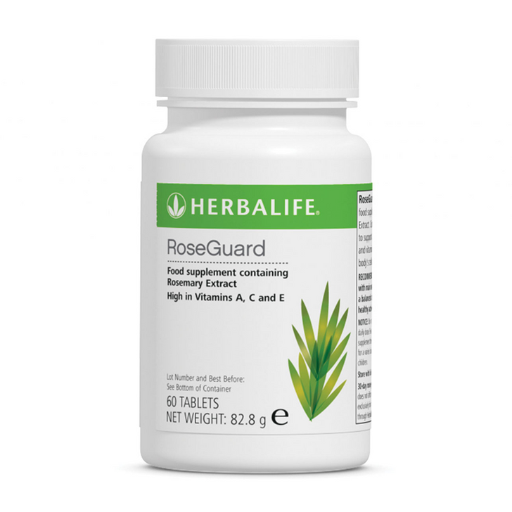 Herbalife - RoseGuard (60 Tablets) - Bottle