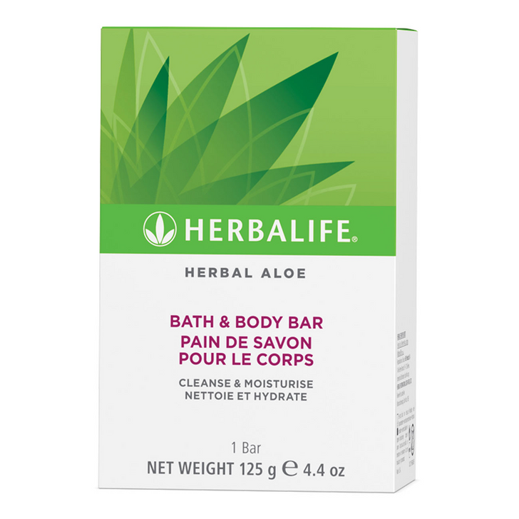 Herbalife - Herbal Aloe Bath & Body Bar (125g)