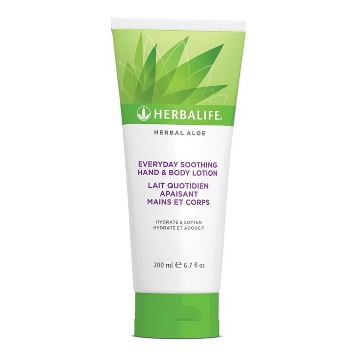Herbalife - Herbal Aloe Hand & Body Lotion (200ml) - Tube