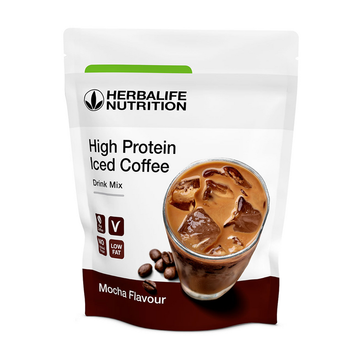 Herbalife - High Protein Iced Coffee Mocha (322g) - Packaging