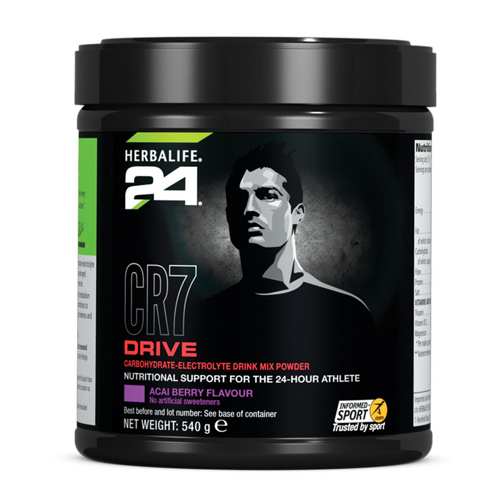 HERBALIFE24 - CR7 Drive - Canister - Acai Berry Flavour (540g) - Container