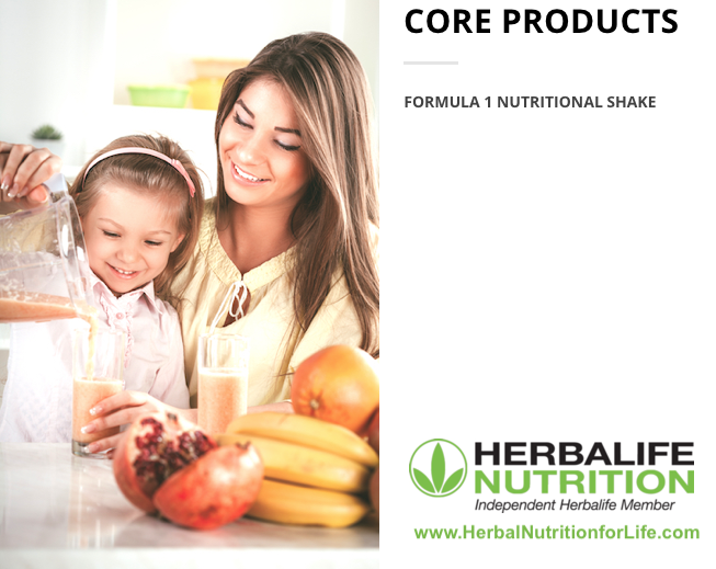 Herbalife Core Products - Formula1