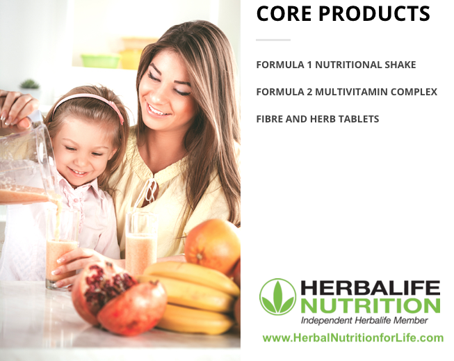 Herbalife Core Products