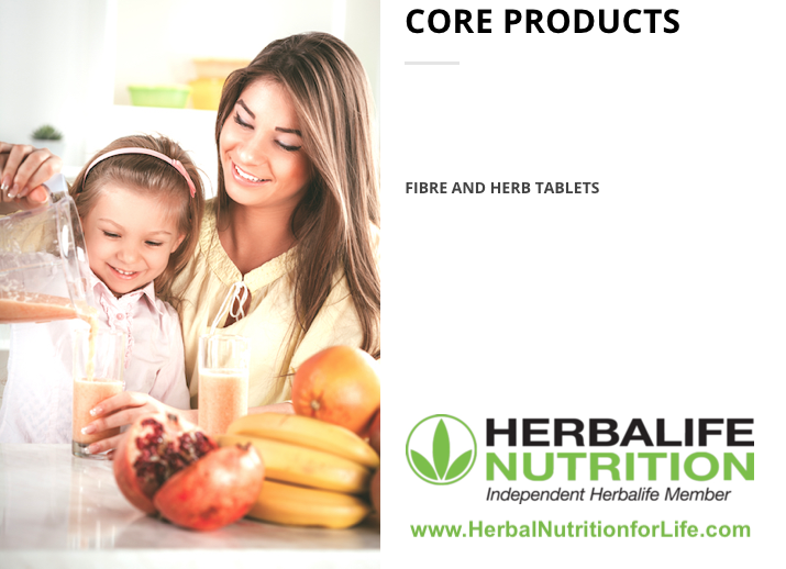 Herbalife Core Products - Fibre & Herbs