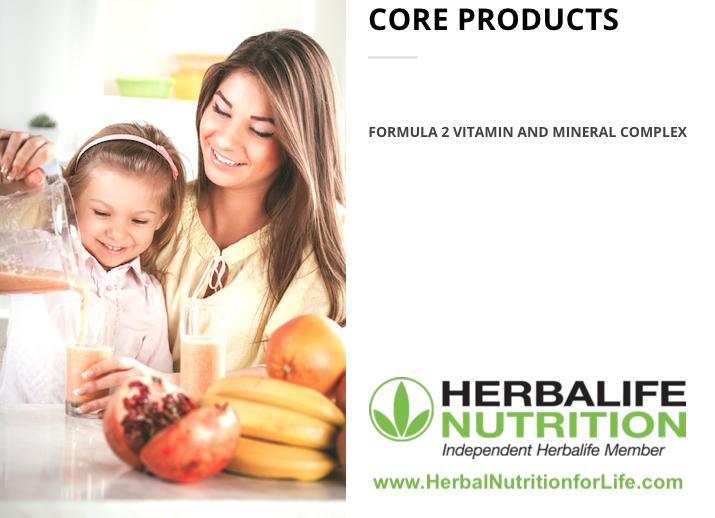 Herbalife Formula 2 Vitamin & Mineral Complex